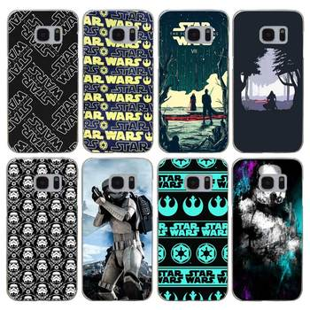 G280 Star Wars Şeffaf Sert PC Case Kapak Için Samsung Galaxy S 3 4 5 6 7 8 Mini Kenar Artı Not 3 4 5 8